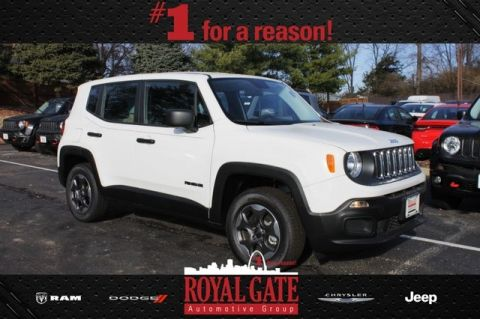 New 2016 Jeep Renegade Sport 4WD