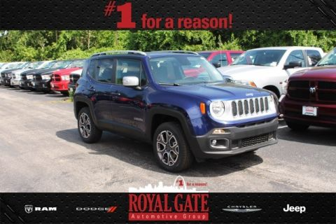 New 2016 Jeep Renegade Limited 4WD